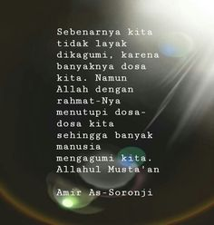 Reminder Quotes, Self Reminder, Muslim Quotes, Islamic Quotes, Doa Islam, Quotes Indonesia, Giving Up, Better Life, Allah