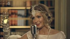 Made in Chelsea's Roaring 20s styling - Headpieces