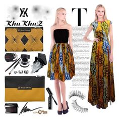 """KhuKhuz Fashion 4"" by gaby-mil ❤ liked on Polyvore featuring Trish McEvoy, Bobbi Brown Cosmetics, Max Factor, Gorgeous Cosmetics, LULUS and khukhuzfashion"