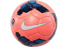 Nike Incyte Official FA Match Soccer Ball - Mango with Blue.Available at SoccerPro right Now! Nike Soccer Ball, Soccer Gear, Soccer Drills, Soccer Tips, Play Soccer, Soccer Cleats, Soccer Players, Soccer Stuff, Real Madrid