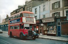 Crystal Palace bound 122 in Lewisham, 1978 I rode the 122 when I lived in Lewisham. (New bus, of course) Ancient Greek Architecture, City Architecture, Vintage London, Old London, London Bus, London City, London Transport, Public Transport, Rt Bus