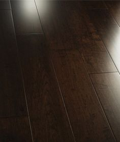 love this dark brown wood floors