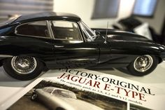 The Jaguar E-type was long and low - 14ft 7 5/16in (4.45m) long and a fraction over 4ft (1.22m) tall.