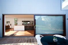 Turners Beach House - Before & After - Lifestyle Grand Designs Houses, Grand Designs Australia, In Law House, Metal Cladding, Kitchen Views, House Doors, Will Turner, Open Plan, Modern Rustic