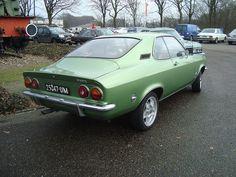 1972 Opel Manta.  My first car.