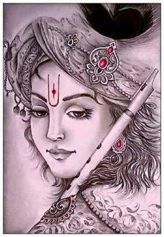 Tere bin kitni nam rahti h ye akhe .kbi tanhai m mje aa ke to deko .kho jau ga tum m teno loko ko bhul k bs apne gle mjko lga ke to deko . Shiva Art, Krishna Art, Hindu Art, Hare Krishna, Krishna Images, Radha Krishna Paintings, Krishna Statue, Mahakal Shiva, Radha Krishna Pictures