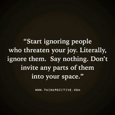 Literally ignore them.