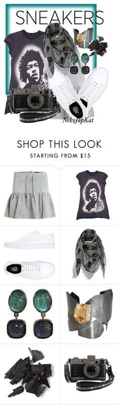 """""""sneaker4"""" by neko-m-tucker-smith ❤ liked on Polyvore featuring Object Collectors Item, Vans, Alexander McQueen and Hervé Van Der Straeten"""