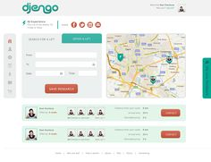 djengo web design by from the times when designing for Pink Beard Media
