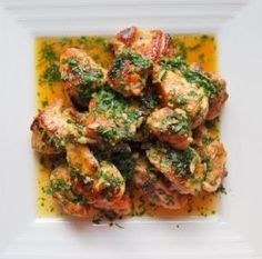 Garlic Chicken - Pollo al Ajillo - The Best, Easy, Healthy, Mediterranean Recipe - Fresh Herbs, Garlic and Lemon Juice Thyme Recipes, Tapas Recipes, Lemon Recipes, Cooking Recipes, Yummy Recipes, Diet Recipes, Spanish Dishes, Spanish Food, Spanish Tapas