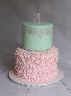21st birthday - Cake by Natalie Wells - CakesDecor