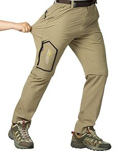 fafb1daad0a16 Women's hiking Convertible Stretch Pants Quick Dry Camping Fishing shorts  Zip Off trousers