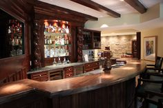 Phenomenal Stunning Home Bar Decor Ideas For Your Inspiration Do you want to apply home bar decor? Be aware, that the presence of this place is optional. In contrast to the main bedroom, bathroom, living room, an. Small Bars For Home, Home Bar Decor, Home Bar Designs, Rustic Design, Home Goods, Kitchen Design, House Design, Bar Stand, House Styles