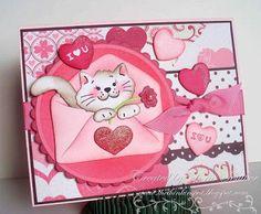 Lorie Souther for CottageBLOG: More Valentine Love - 2/11/11 (Cottage Cutz dies)