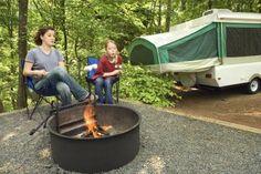 How to Restore a Pop-Up Camper Trailer thumbnail (Pop Up Camping Hacks) Pop Up Camper Trailer, Popup Camper, Camper Trailers, Trailer Tent, Trailer Decor, Trailer Interior, Diy Camper, Retail Interior, Jayco Pop Up Campers