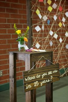 guest book sign in idea. photo by ChadCress.com