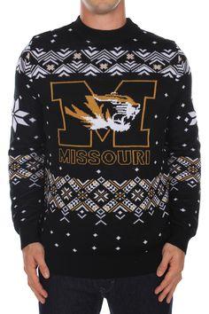 Men's University of Missouri Sweater  $65.95  http://www.tipsyelves.com/mizzou-sweater