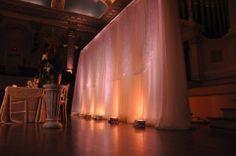 Wedding backdrop ideas!