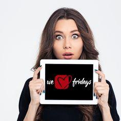 Déjate sorprender una semana más por #Frideals ¡Permanece atento a nuestras redes sociales! #WeLoveFridays