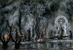 The Gate Of Moria by Soni Alcorn-Hender [©2014]
