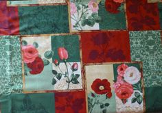 Cotton Fabric , Quilt Fabric, Home Decor, Bouquet Moderne,#2 South Sea Imports, Fast Shipping F455