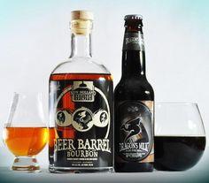 Bourbon, beer share barrels for a smooth spirit