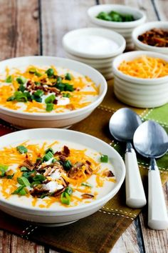 Instant Pot Low-Carb Loaded Cauliflower Soup | Community Post: 15 Instant Pot Soup Ideas You Seriously Need To Try