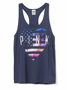 4th of July Racerback Tank
