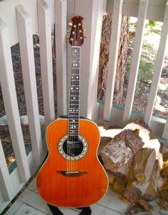 Acoustic Electric Guitars Ovation Ce44-5 Acoustic-electric Guitar Black Online Discount