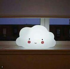 Luminária de nuvem fofinha