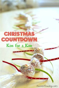 Christmas Advent kiss for a kiss itsoverflowing