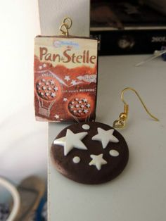 orecchini pan di stella e pacco