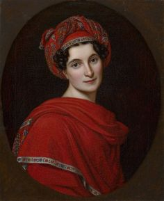 Therese Alexandra Freifrau von Tettenborn by Joseph Karl Stieler