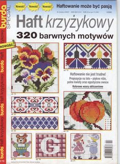Gallery.ru / Фото #1 - 2_2003 BURDA Special 320 motywow - tr30935