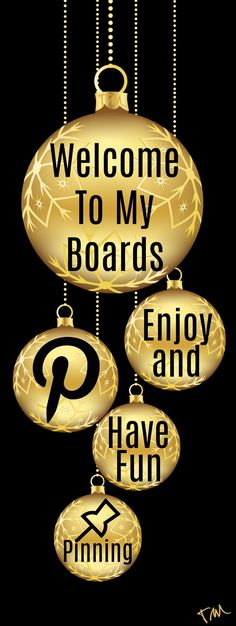 Welcome To My Pinterest Boards ♥ Tam ♥