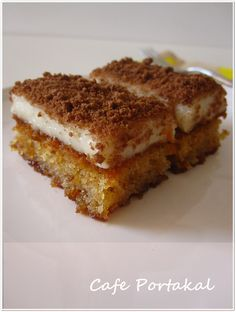 When my friend Emel insisted on this dessert, I immediately added it to the Tea Invitation menu. It& as sweet as she insists. Cake Recipes, Snack Recipes, Dessert Recipes, Cooking Recipes, Mousse Au Chocolat Torte, Pasta Cake, Turkish Sweets, Turkish Recipes, Vegan Snacks