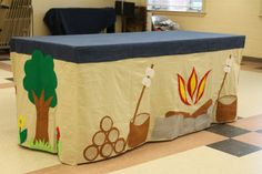 Made to order Camping Tent Custom Tablecloth fort by MegAndMama