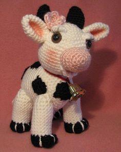 Molly Moo de koe Amigurumi van APDesigns op Etsy
