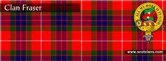 Clan Fraser Tartan and Crest    http://www.scotclans.com/scottish_clans/clan_fraser/