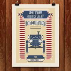 Innovation Makes America Great by Shane Henderson for What Makes America Great by Creative Action Network - 2