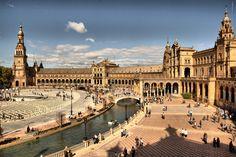 Sevilla en Feria: Plaza de España