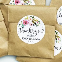 Personalized Thank You Tag, Wedding Tags, Favor Tag Printable or Printed with FR… – Wedding ideas Candy Bar Labels, Drink Labels, Free Wedding, Wedding Thank You, Party Wedding, Wedding Ideas, Table Cadeau, Printable Tags, Printables