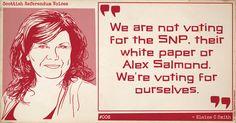 Scottish Referendum Voices #006: Elaine C Smith #indyref