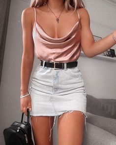 Stylish Summer Outfits, Cute Casual Outfits, Sexy Outfits, Spring Outfits, Fashion Outfits, Fashion Tips, Fashion Clothes, Fashion Hair, Fashion Accessories