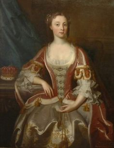 Hannah Howard, Countess of Rothes probably by Jeremiah Davidson (Clan Leslie Charitable Trust - Leslie, Fife UK) | Grand Ladies | gogm