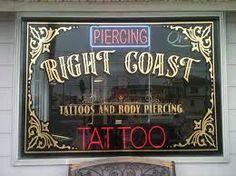 tattoo shop window stickers - Google Search