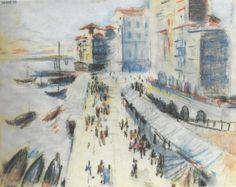 Nadir Afonso -Ribeira do Porto Nadir Afonso, Porto City, Paint Designs, Sculptures, Paintings, Drawings, Style, Modernism, Watercolors