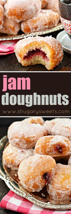 Jam filled Doughnuts