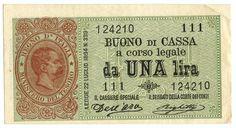 1 LIRA - #scripomarket #scripobanknotes #scripofilia #scripophily #finanza #finance #collezionismo #collectibles #arte #art #scripoart #scripoarte #borsa #stock #azioni #bonds #obbligazioni