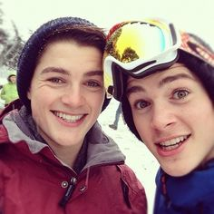 Nothing hotter than British boys snowboarding..